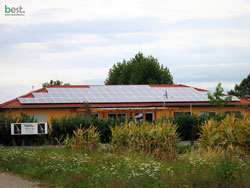 Objekt Ries in Weisweil / 35,49 kWp